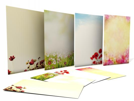 Stationery-Set Best of FLowers incl. Envelopes