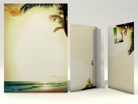 Motivpapier-Serie Romantic Sunset