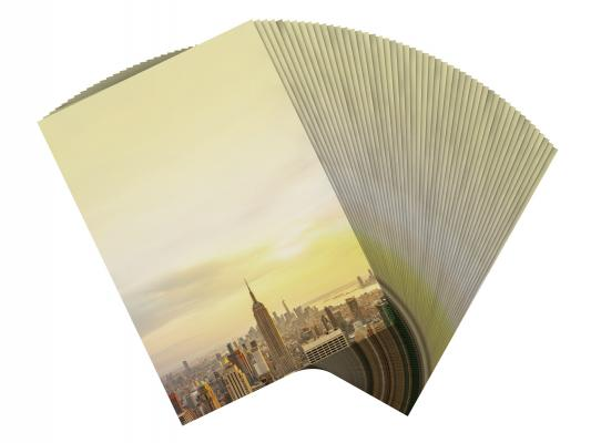 Motivpapier New York Skyline Briefpapier mit Motiv