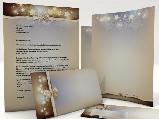 Christmas Stationery Stardust