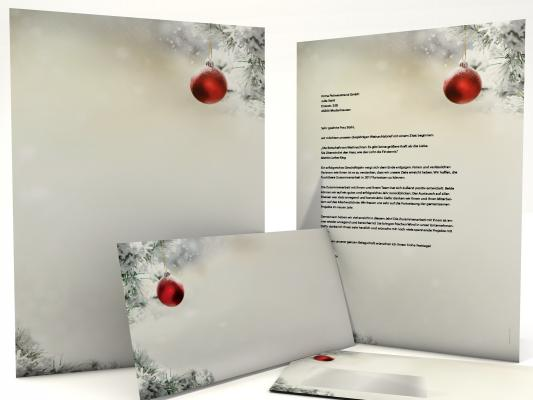 Christmas Stationery Silent Night