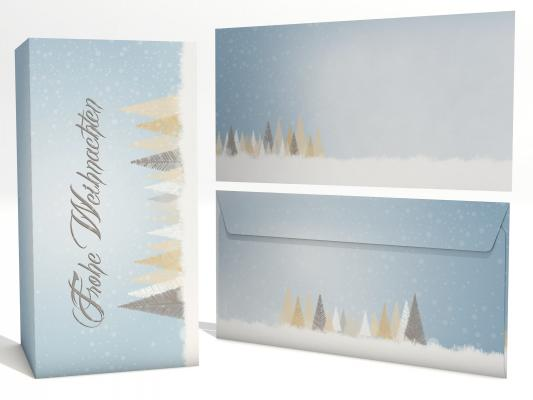Christmas Cards Pure SIlver